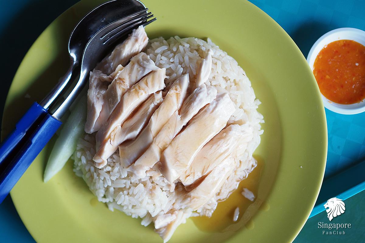 ข้าวมันไก่ สิงคโปร์