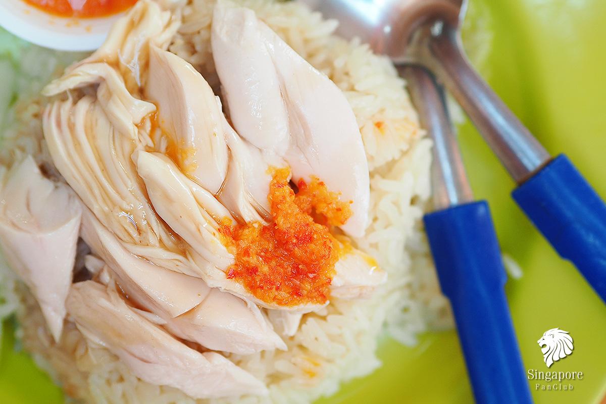 รีวิวข้าวมันไก่ เทียน เทียน