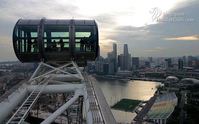 บันทึกการเดินทาง  Singapore Flyer – the world's largest giant observation wheel