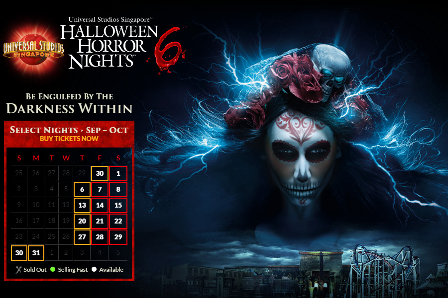 Halloween Horror Nights 6 ที่ Universal Studios Singapore