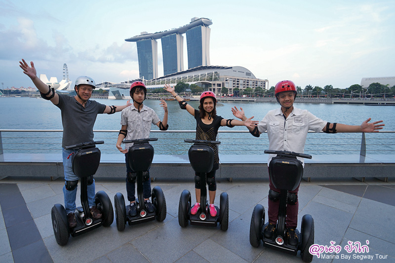 Marina Bay Segway Tours ของเล่นใหม่ล่าสุดจาก Marina Bay (2014)
