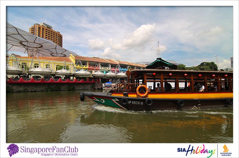 ล่องเรือชมเมืองสวยงามกับ Singapore River Cruises