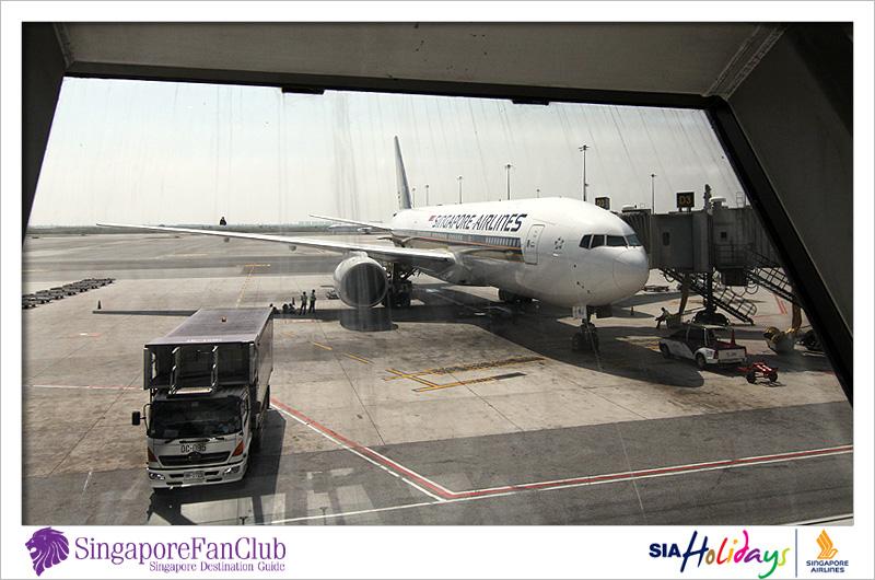 บนระดับความสูงที่ 3000 ฟิต @ Singapore Airlines