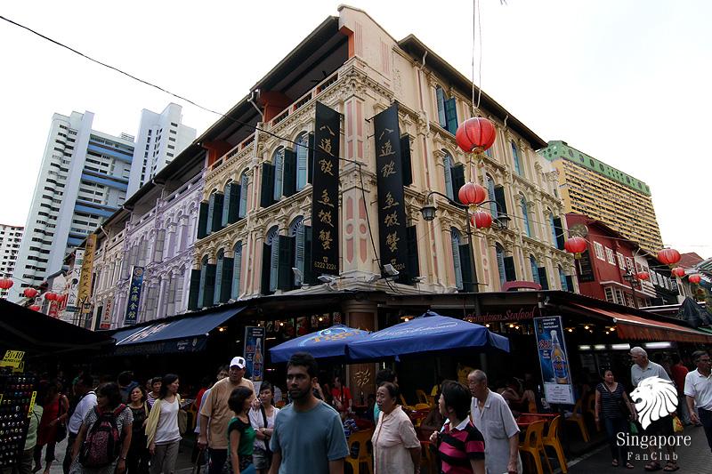 เลือกซื้อของที่ระลึก ใน Chinatown ประเทศสิงคโปร์