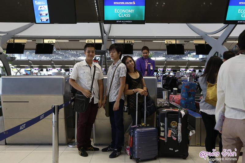Singapore Airlines บินสบาย อาหารอร่อย การบริการดีเยี่ยม
