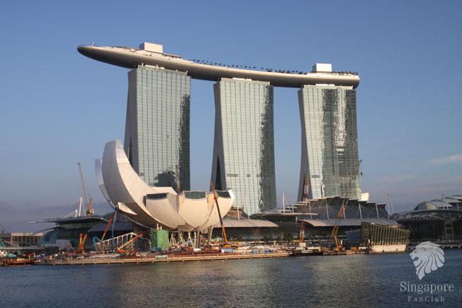 ชมวิวสิงค์โปร์ที่ SkyPark @ Marina Bay Sands