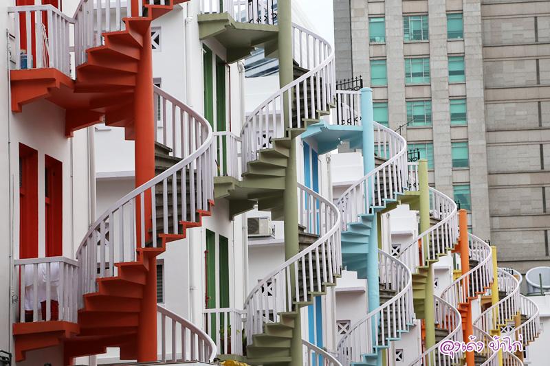 พาไปชม บันไดวน สุดเก๋ แห่งบูกิต Spiral staircases – Bugis, Singapore