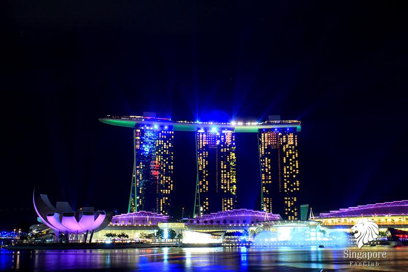 สุดยอด Wonder Full Show @ Marina Bay Sands ไม่เสียค่าเข้าชม