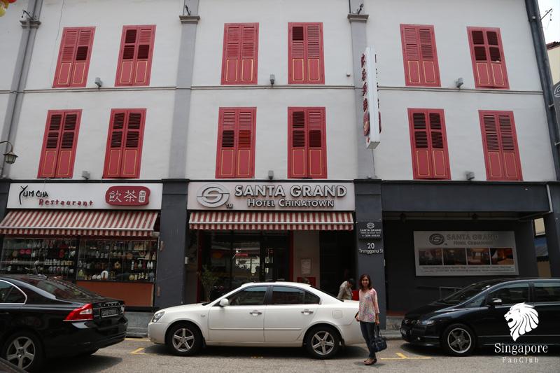 Santa Grand Hotel (3*) ราคาไม่แพง เดินทางสะดวก อยู่ในดงร้านอาหาร แหล่งช๊อปปิ้ง ย่าน Chinatown
