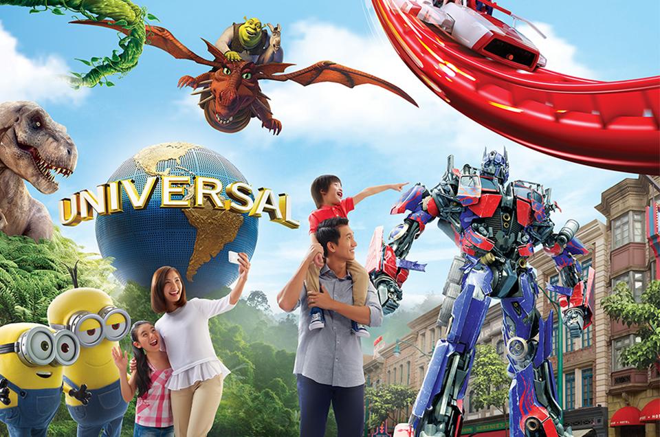 รวมคลิปบรรยากาศใน Universal Studios Singapore