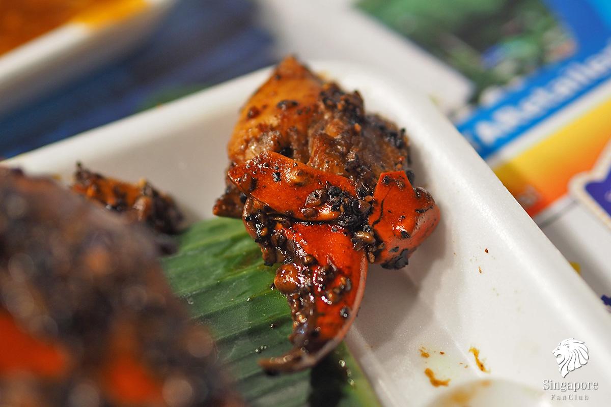Black Pepper Crab ปูพริกไทยดำ