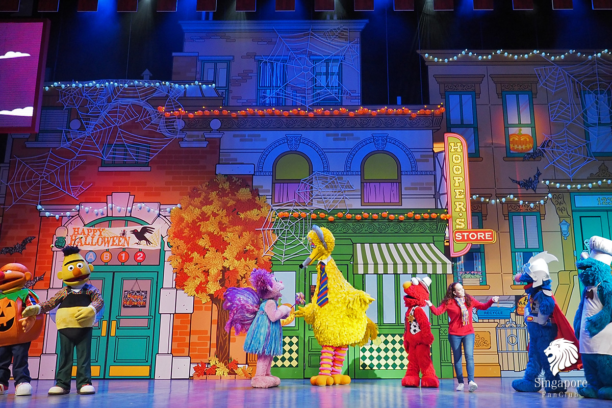 Treat or Trick with Sesame Street