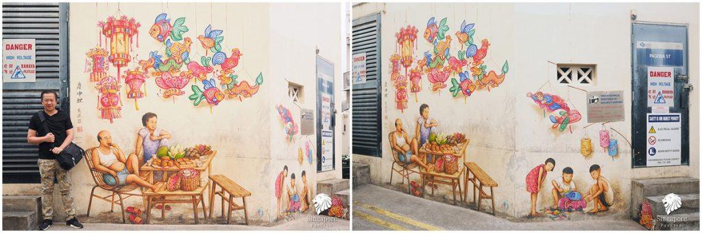 Street Art Chinatown Singapore
