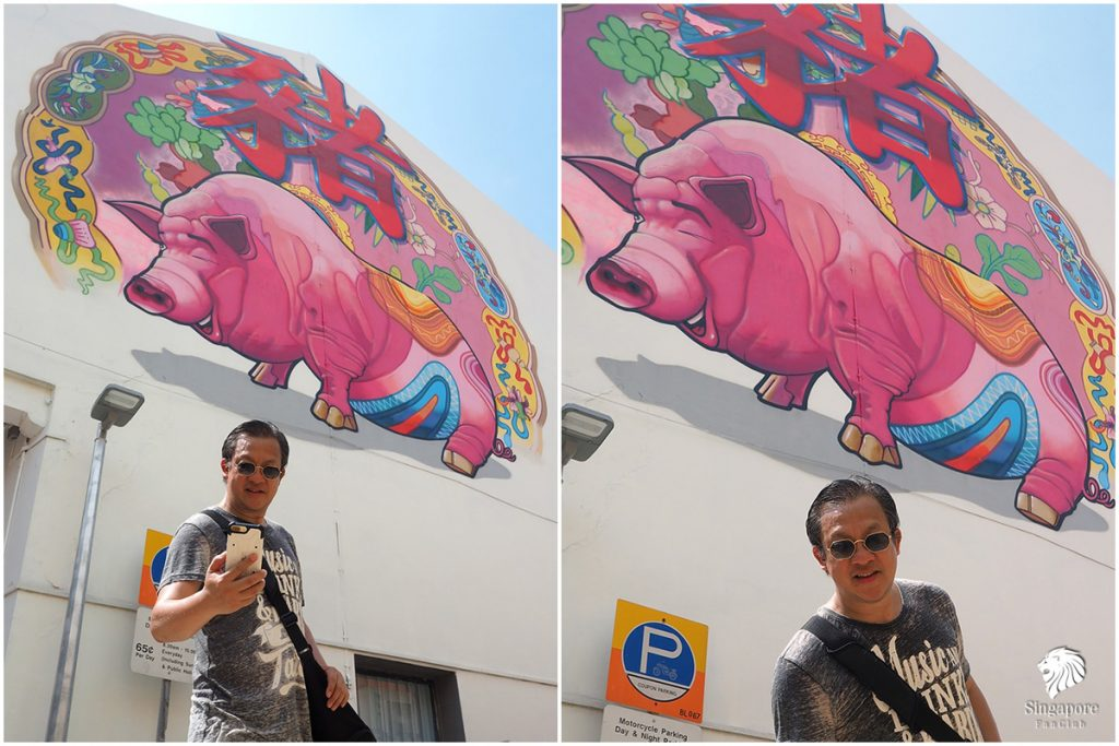 chinatown street art singapore อยู่ที่ไหน