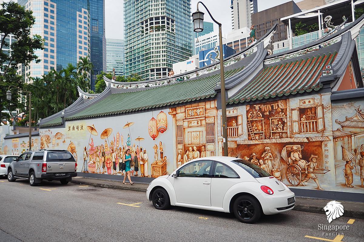 ถ่ายรูป Chinatown สิงคโปร์
