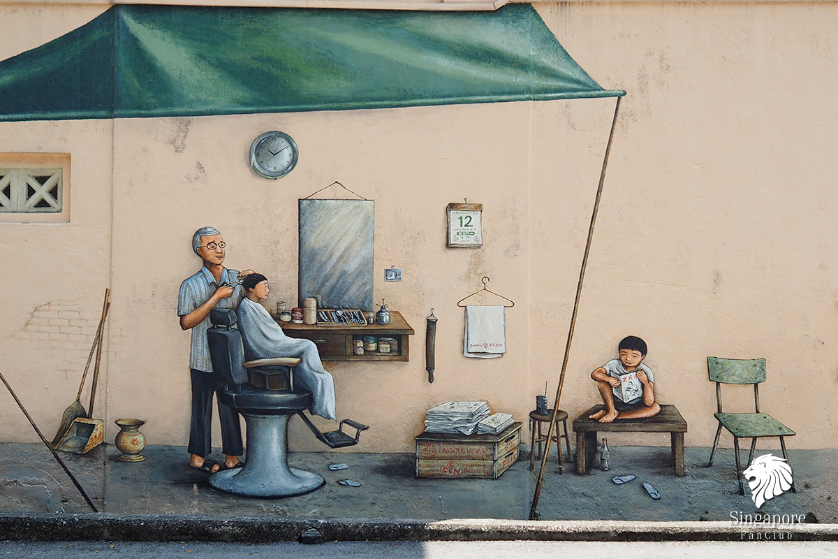สิงคโปร์ street art