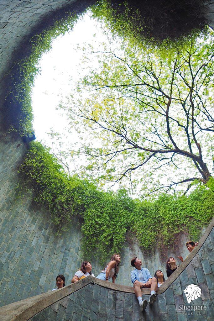 อุโมงค์ต้นไม้ Fort Canning Park