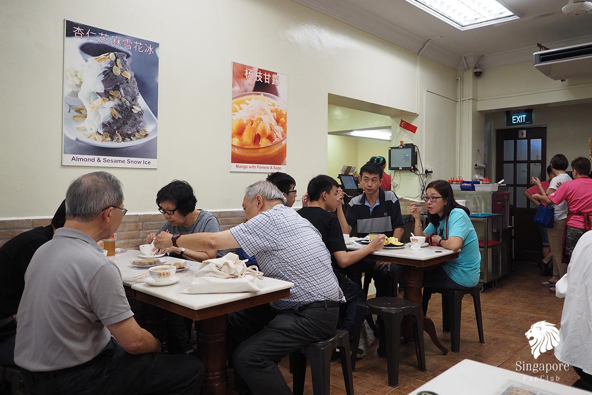รีวิว ร้านอาหาร สิงคโปร์